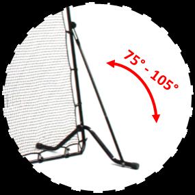Schéma de l'angle réglable du mûr d'entraînement